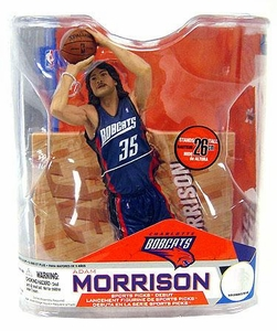McFarlane Toys NBA Sports Picks Series 14 Action Figure Adam Morrison (Charlotte Bobcats) Blue Jersey Variant