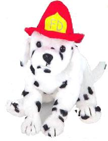 Ty October 2004 Beanie Baby of the Month Fireplug the Dog