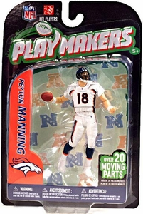McFarlane Toys NFL Playmakers Series 3 Action Figure Peyton Manning (Denver Broncos)