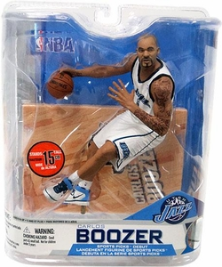 McFarlane Toys NBA Sports Picks Series 14 Action Figure Carlos Boozer (Utah Jazz) White Jersey