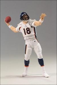 McFarlane Toys NFL Playmakers Series 3 LOOSE Action Figure Peyton Manning (Denver Broncos)