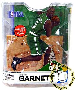 McFarlane Toys NBA Sports Picks Series 14 Action Figure Kevin Garnett (Boston Celtics) Green Jersey