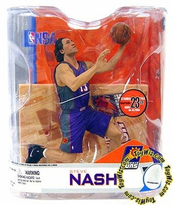 McFarlane Toys NBA Sports Picks Series 14 Action Figure Steve Nash (Phoenix Suns) Purple Jersey