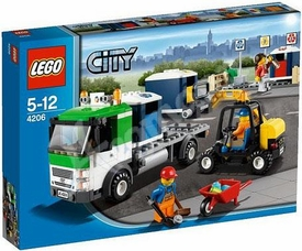 LEGO City Exclusive Set #4206 Recycling Truck