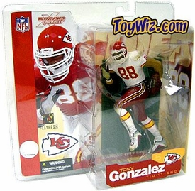 McFarlane Toys NFL Sports Picks Series 5 Action Figure Tony Gonzalez (Kansas City Chiefs) White Jersey Variant