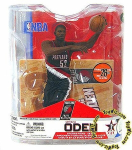 McFarlane Toys NBA Sports Picks Series 14 Action Figure Greg Oden (Portland Trailblazers) Black Jersey