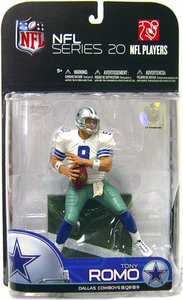 McFarlane Toys NFL Sports Picks Series 20 [2009 Wave 1] Action Figure Tony Romo (Dallas Cowboys)