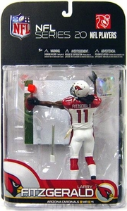 McFarlane Toys NFL Sports Picks Series 20 [2009 Wave 1] Action Figure Larry Fitzgerald (Arizona Cardinals)