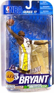 McFarlane Toys NBA Sports Picks Series 17 [2009 Wave 2] Action Figure Kobe Bryant (Los Angeles Lakers) White Jersey