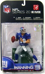 McFarlane Toys NFL Sports Picks Series 20 [2009 Wave 1] Action Figure Eli Manning (New York Giants) Blue Jersey