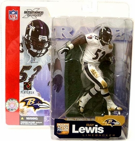 McFarlane Toys NFL Sports Picks Series 5 Action Figure Ray Lewis (Baltimore Ravens) White Jersey