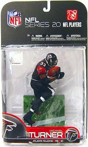 McFarlane Toys NFL Sports Picks Series 20 [2009 Wave 1] Action Figure Michael Turner (Atlanta Falcons) Black Jersey