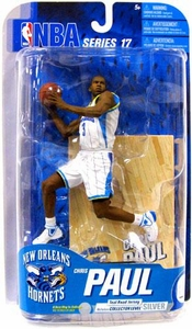 McFarlane Toys NBA Sports Picks Series 17 [2009 Wave 2] Action Figure Chris Paul (New Orleans Hornets) White Jersey