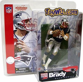McFarlane Toys NFL Sports Picks Series 5 Action Figure Tom Brady (New England Patriots) Blue Jersey Variant