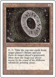 Magic the Gathering Revised Edition Single Card Rare Millstone