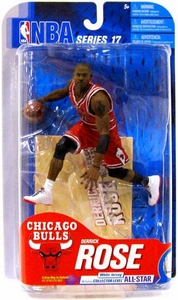 McFarlane Toys NBA Sports Picks Series 17 [2009 Wave 2] Action Figure Derrick Rose (Chicago Bulls) Red Jersey