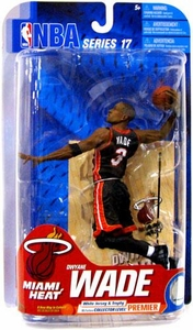 McFarlane Toys NBA Sports Picks Series 17 [2009 Wave 2] Action Figure Dwyane Wade (Miami Heat) Black Jersey