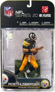 McFarlane Toys NFL Sports Picks Series 20 [2009 Wave 1] Action Figure Ben Roethlisberger (Pittsburgh Steelers)