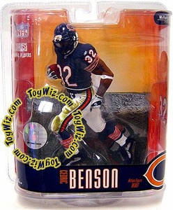 McFarlane Toys NFL Sports Picks Series 15 Action Figure Cedric Benson (Chicago Bears)