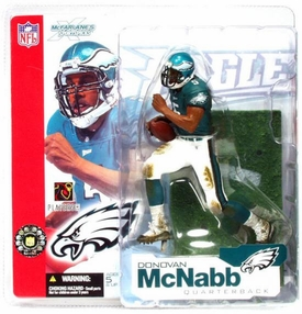 McFarlane Toys NFL Sports Picks Series 4 Action Figure Donovan McNabb (Philadelphia Eagles) Green Jersey BLOWOUT SALE!