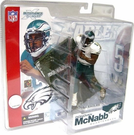 McFarlane Toys NFL Sports Picks Series 4 Action Figure Donovan McNabb (Philiadelphia Eagles) White Jersey Variant BLOWOUT SALE!