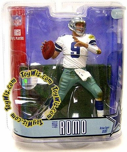 McFarlane Toys NFL Sports Picks Series 15 Action Figure Tony Romo (Dallas Cowboys) White Jersey