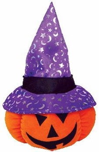 Ty Pluffies Plush Gourdy the Pumpkin