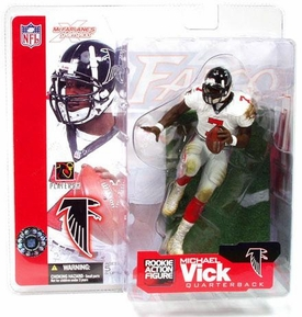 McFarlane Toys NFL Sports Picks Series 4 Action Figure Michael Vick (Atlanta Falcons) White Jersey