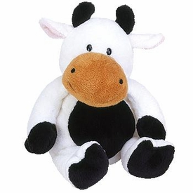 Ty Pluffies Plush Grazer the Cow