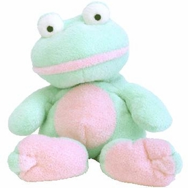 Ty Pluffies Plush Grins the Frog