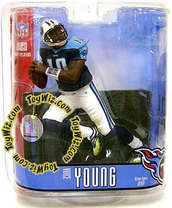 McFarlane Toys NFL Sports Picks Series 15 Action Figure Vince Young (Tennessee Titans) White Pants