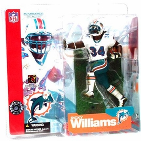 McFarlane Toys NFL Sports Picks Series 4 Action Figure Ricky Williams (Miami Dolphins)