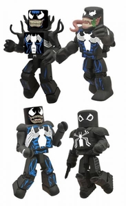 Marvel Minimates Mini Figure 4-Pack Venom Through The Ages