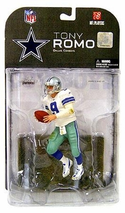 McFarlane Toys NFL Sports Picks Series 17 [2008 Wave 1] Action Figure Tony Romo (Dallas Cowboys) Dirty Uniform