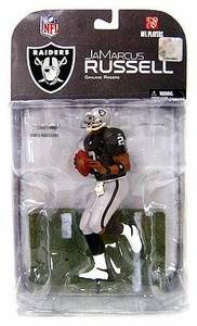 McFarlane Toys NFL Sports Picks Series 17 [2008 Wave 1] Action Figure JaMarcus Russell (Oakland Raiders) Clean Uniform Variant