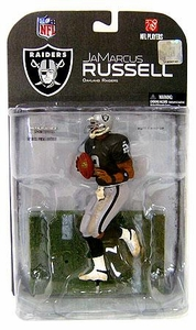 McFarlane Toys NFL Sports Picks Series 17 [2008 Wave 1] Action Figure JaMarcus Russell (Oakland Raiders) Dirty Uniform