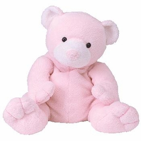 Ty Pluffies Plush Pudder the Pink Bear