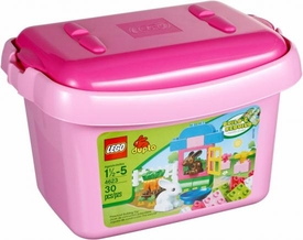 LEGO DUPLO Set #4623 Pink Tub with Bunnies