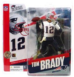 McFarlane Toys NFL Sports Picks Series 11 Action Figure Tom Brady (New England Patriots) White Jersey Variant