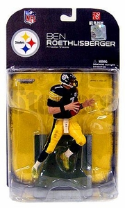 McFarlane Toys NFL Sports Picks Series 18 [2008 Wave 2] Action Figure Ben Roethlisberger (Pittsburgh Steelers) Dirty Uniform