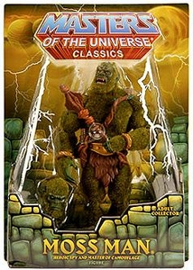 He-Man Masters of the Universe Classics Exclusive Action Figure Moss Man [Unflocked Ears]