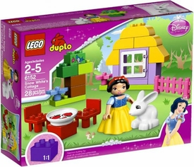 LEGO DUPLO Disney Princess Set #6152 Snow White's Cottage