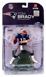 McFarlane Toys NFL Sports Picks Series 18 [2008 Wave 2] Action Figure Tom Brady (New England Patriots) Dirty Pants