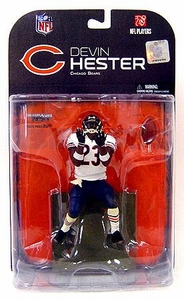 McFarlane Toys NFL Sports Picks Series 18 [2008 Wave 2] Action Figure Devin Hester (Chicago Bears) White Wrist Bands