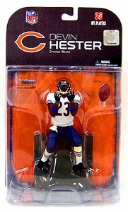 McFarlane Toys NFL Sports Picks Series 18 [2008 Wave 2] Action Figure Devin Hester (Chicago Bears) Blue Wrist Bands Variant