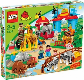 LEGO DUPLO LEGO Ville Set #5635 Big City Zoo