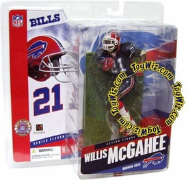 McFarlane Toys NFL Sports Picks Series 11 Action Figure Willis McGahee (Buffalo Bills) Blue Jersey