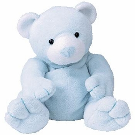 Ty Pluffies Plush Tinker the Blue Bear