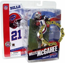 McFarlane Toys NFL Sports Picks Series 11 Action Figure Willis McGahee (Buffalo Bills) White Jersey Variant