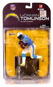 McFarlane Toys NFL Sports Picks Series 18 [2008 Wave 2] Action Figure LaDainian Tomlinson (San Diego Chargers) White Armband